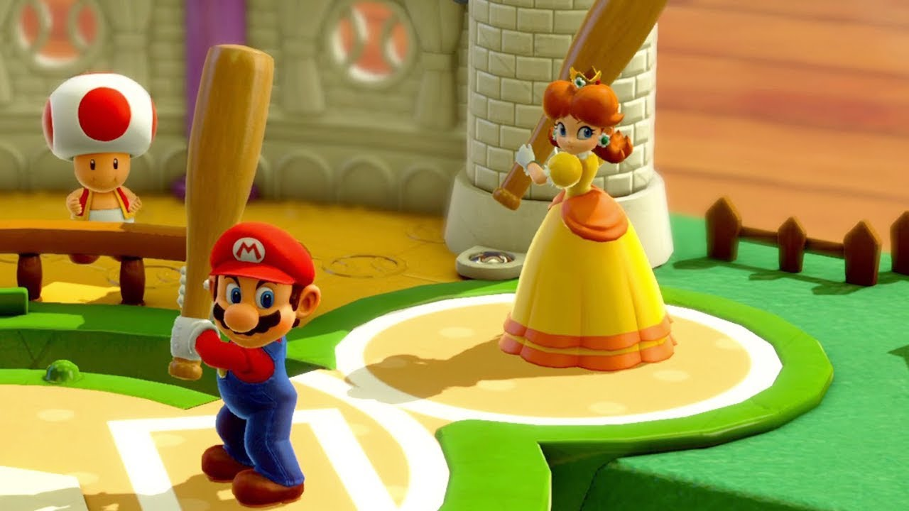 Jeu Mini-baseball Mario Party